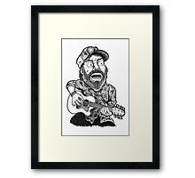 The other legendary Hank. Framed Print