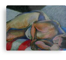 Asleep- After the Party Metal Print