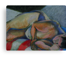 Asleep- After the Party Canvas Print