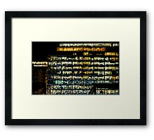 Where's Wally offices Framed Print