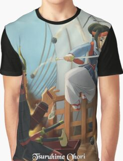 Tsuruhime Ohori - Rejected Princesses Graphic T-Shirt