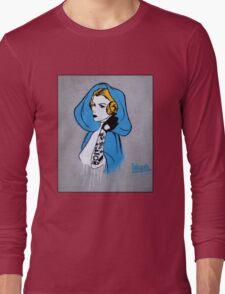 Princess Leia Graffiti Long Sleeve T-Shirt