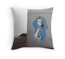 Princess Leia Graffiti Throw Pillow