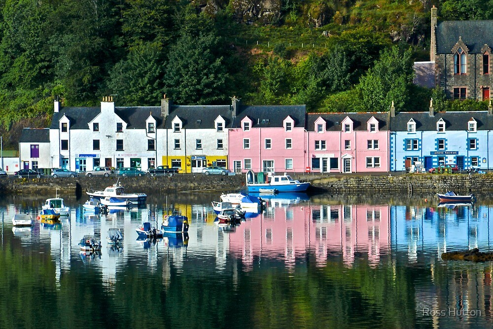 Portree Harbour, Isle of Skye, Scotland by Ross Hutton