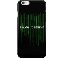 Who to believe? iPhone Case/Skin