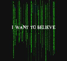 Who to believe? Unisex T-Shirt