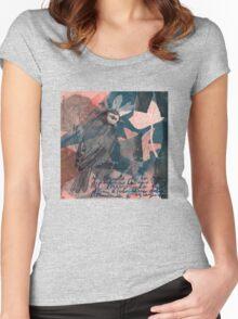 Baroque Dance Flight Women's Fitted Scoop T-Shirt