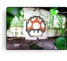 Mario Mushroom 16bit Canvas Print