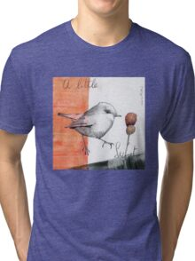 A Little Purple Secret Tri-blend T-Shirt