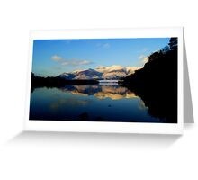 Derwent Water and Skiddaw, Lake District National Park Greeting Card