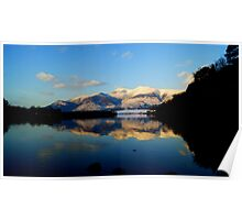 Derwent Water and Skiddaw, Lake District National Park Poster