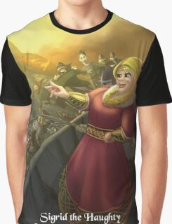 Sigrid the Haughty - Rejected Princesses Graphic T-Shirt