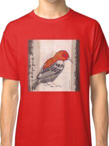 Black & Red Think Classic T-Shirt