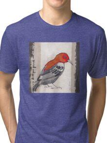 Black & Red Think Tri-blend T-Shirt