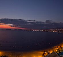 Acapulco bay Mexico by dubassy