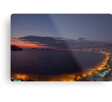 Acapulco bay Mexico Metal Print