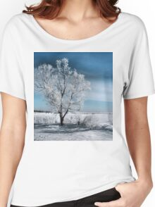 Frosty Tree Women's Relaxed Fit T-Shirt