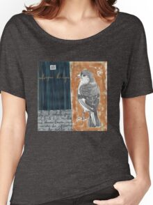 Wings on Blue Women's Relaxed Fit T-Shirt