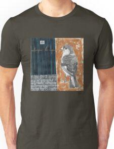 Wings on Blue Unisex T-Shirt