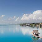 Bacalar lagoon, Mexico by dubassy