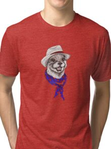 The Happy Otter Tri-blend T-Shirt