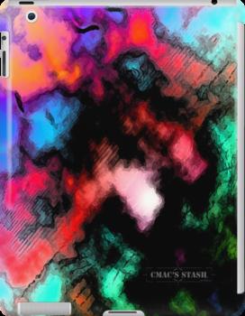 Pastel Style iPad Case by CMACSSTASH