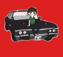 Dean and His Impala by kate owen