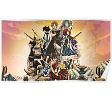 Fairy Tail - Poster Poster
