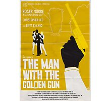 THE MAN WITH THE GOLDEN GUN Photographic Print