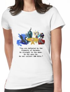 My Little Pony Villains Womens Fitted T-Shirt