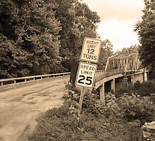 Route 66 - Steel Truss Bridge by Frank Romeo