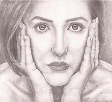 pencil drawing by MarinaDekker