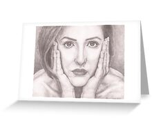 pencil drawing Greeting Card