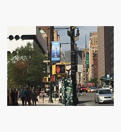 NYC 7th Avenue North Photographic Print