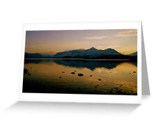 Cat Bells, Lake District National Park. Greeting Card