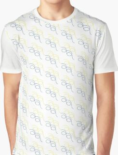 BLUE AND YELLOW Graphic T-Shirt