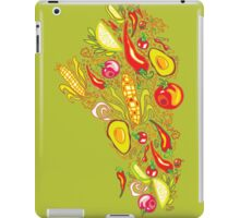 Vegetables Pattern iPad Case/Skin