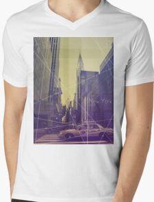 New York (Empire State) Mens V-Neck T-Shirt