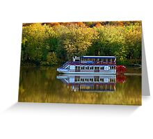 Hiawatha On The Susquehanna Greeting Card