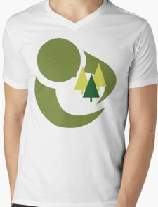 "Earth Day ""Save The Trees"" Mens V-Neck T-Shirt"