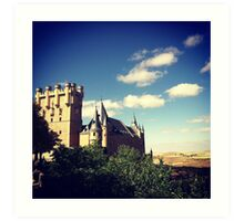 Old City Segovia (Spain) Art Print