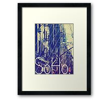New York (SoHo) Framed Print