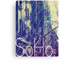 New York (SoHo) Canvas Print