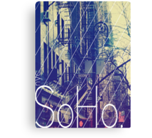 New York (SoHo) Canvas Print