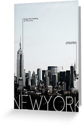 New York (Skyline) by Richard Yeomans