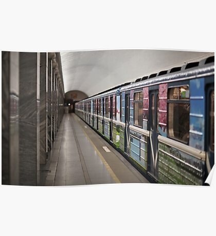 subway station Poster