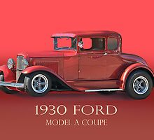 1930 Ford Model A Coupe w/ID by DaveKoontz