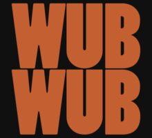 Wub Wub - Orange by SwordStruck