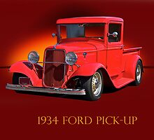 1934 Ford Pick-Up w/ID by DaveKoontz