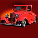 1934 Ford Pick-Up w/o ID by DaveKoontz